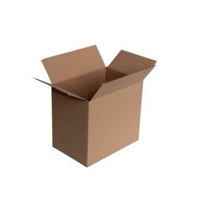 Krabice z třívrstvého kartonu 215x145x195, klopová (0207) s mřížkou na 6 pozic
