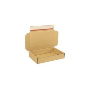 Krabice z třívrstvého kartonu 220x150x42 mm pro tiskoviny A5, lepící páska