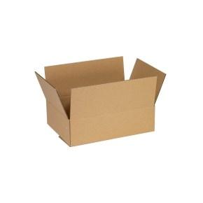 Krabice z třívrstvého kartonu 220x160x60 mm, klopová (0201)