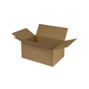 Krabice z třívrstvého kartonu 266x191x127, klopová (0701)