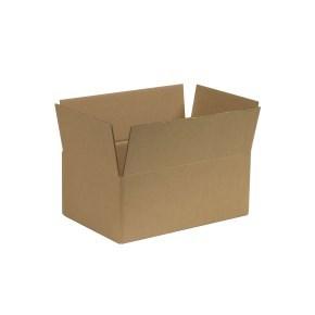 Krabice z třívrstvého kartonu 286x186x113 mm, klopová