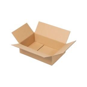 Krabice z třívrstvého kartonu 294x194x78, klopová (0201) kraft