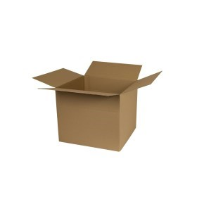 Krabice z třívrstvého kartonu 300x270x262, klopová (0201)