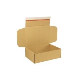 Krabice z třívrstvého kartonu 305x215x100 mm pro tiskoviny A4, lepicí páska