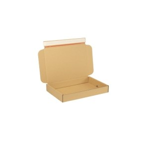 Krabice z třívrstvého kartonu 305x215x42 mm pro tiskoviny A4, lepící páska