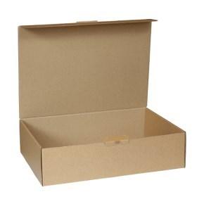 Krabice z třívrstvého kartonu 305x215x80 mm, pro tiskoviny A4, hnědá