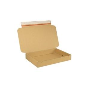 Krabice z třívrstvého kartonu 347x255x50 mm pro tiskoviny, lepící páska