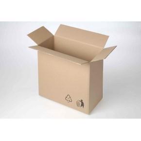 Krabice z třívrstvého kartonu 370x190x370, klopová (0201) T20B
