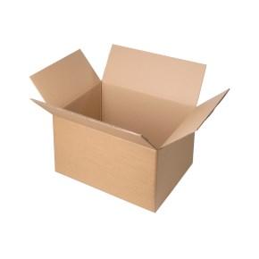 Krabice z třívrstvého kartonu 394x194x188, klopová (0201)