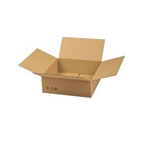Krabice z třívrstvého kartonu 394x394x138, klopová (0201)