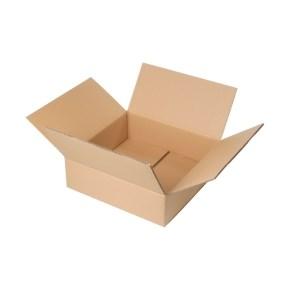 Krabice z třívrstvého kartonu 394x394x188, klopová (0201)
