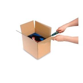 Krabice z třívrstvého kartonu 435x335x140-240, klopová (0201) na tiskoviny A3 ( 5 rylů navíc po 20 m
