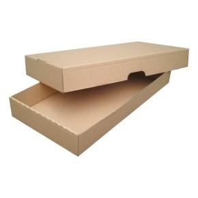 Krabice z třívrstvého kartonu 500x262x68 skládací s víkem