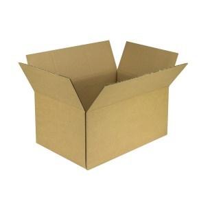 Krabice z třívrstvého kartonu 545x362x257 mm, klopová (0201) KRAFT