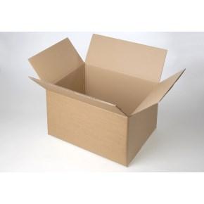Krabice z třívrstvého kartonu 590x260x260, klopová (0201)