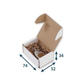 Krabice z třívrstvého kartonu 74x52x34, minikrabička, FEFCO 0471