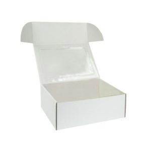 Krabička na 6 muffin/cupcakes 250x180x95 mm bílá s vložkou