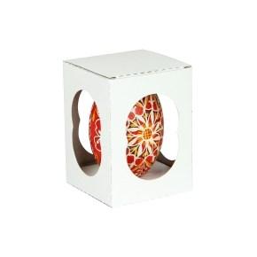Krabička na velikonoční husí kraslici 70x70x100 mm