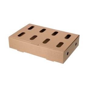 Kuřecí karton jednodílný 3VL KT211B 565 x 365 x 110 mm