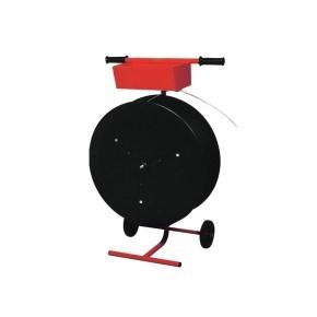 Odvinovač vázací pásky PP,PET,PES10,12,16 vozík - vnitřní průměr 60-406mm