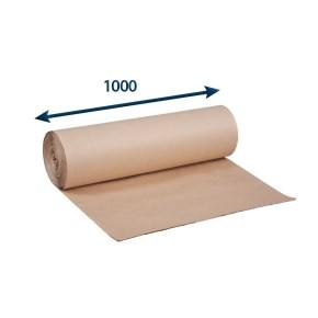 Papír balicí - Role - šedák š.1000, 90g/m2, role po 10 kg