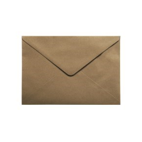 Papírová obálka 229x162 mm, formát C5, hnědá - kraft