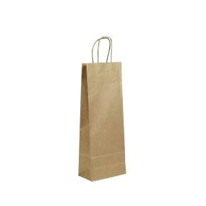 Papírová taška 150x80x400mm na láhev