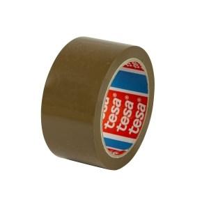 Páska samolepicí PP 48x66 hnědá-havana, TESAPACK 4263