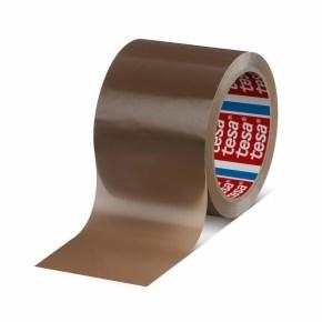 Páska samolepicí PP 50x66 hnědá-hawana-bezhlučná, TESAPACK 4024