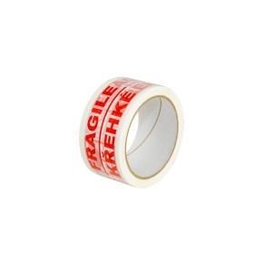 Páska samolepicí PP 50x66 tisk FRAGILE/Křehké