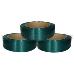 Páska vázací PET polyesterová, šíře 15x0,80 návin 1400m (pevnost 5200N)