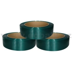 Páska vázací PET polyesterová, šíře 15x0,90 návin 1400m (pevnost 5200N)