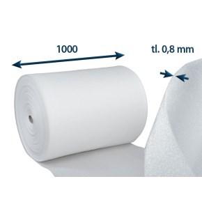 Pěnový polyetylén PE-role, tl. 0,8mm, š.100cm/návin 500m