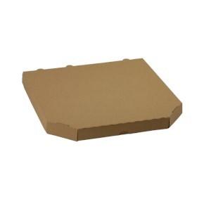 Pizza krabice 330x330x30mm, bez potisku, hnědá