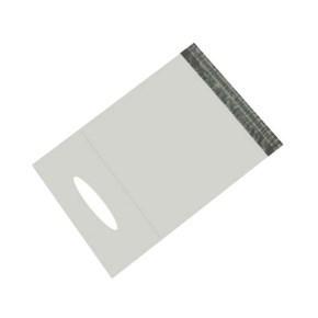 Plastová obálka 360x550 mm, neprůhledná s uchem