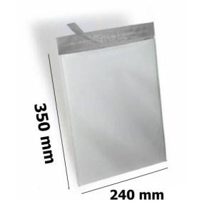Plastová obálka neprůhledná 240x350 mm
