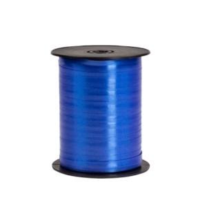Plastová stuha tmavě modrá, šíře 5 mm, délka 500 m, PP