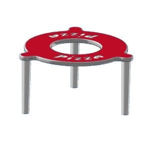 Plastový distanční stojánek do pizza krabic 30 mm