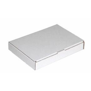 Poštovní krabice 165x120x25mm, do schránek, bílá