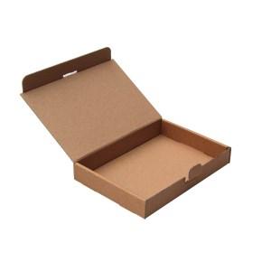 Poštovní krabice 165x120x25mm, do schránek, hnědá