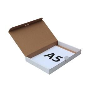 Poštovní krabice 225x150x25mm, do schránek, bílá