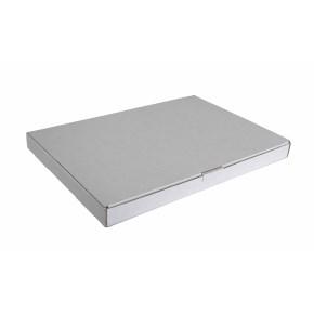 Poštovní krabice 255x160x25mm, do schránek, bílá