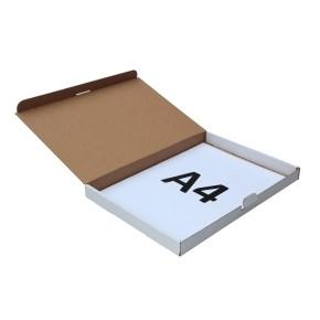 Poštovní krabice 305x220x25mm, do schránek, bílá