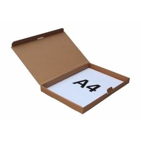 Poštovní krabice 305x220x25mm, do schránek, hnědá