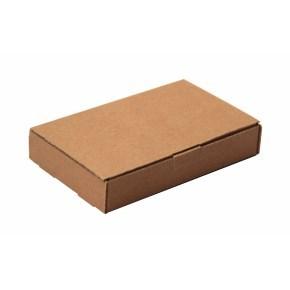 Poštovní krabice 350x250x25mm, do schránek hnědá