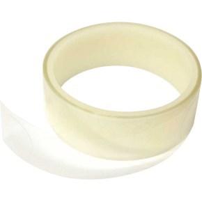 Průhledná samolepicí kolečka, 25 mm, 200 ks