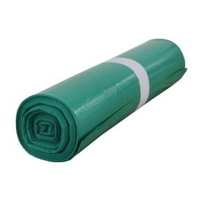 Pytel na odpad LDPE 700x1100/0,045 - zelený
