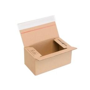 Rychlouzavírací krabice 3VVL 200x110x90 mm, lepicí páska, kraft