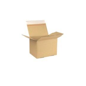 Rychlouzavírací krabice 3VVL 200x150x150 mm, lepicí páska, kraft