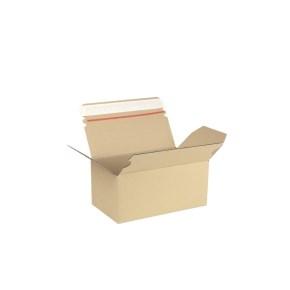 Rychlouzavírací krabice 3VVL 220x125x100 mm, lepicí páska